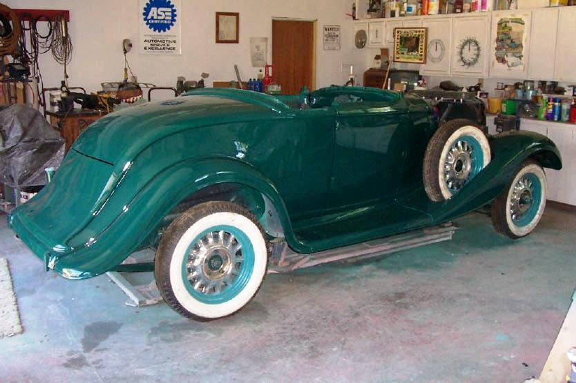 1933 Studebaker Model 56 Roadster
